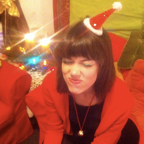 bahhumbug mini santa hat